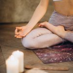 meditation to overcome stress and fall asleep faster